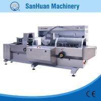 China High Accuracy Fully Automatic Cartoning Machine For Cosmetics / Commodity 20m3/h on sale