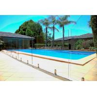 China Fully Frameless Glass Pool Fencing wholesale