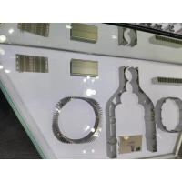 Buy cheap Zinc Plating CNC Aluminum Parts Steel Laser Cutting Air - Vent Front Plate from wholesalers