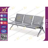 China Heavy Duty Hospital Waiting Room Chairs Stainless Steel With Powder Coating wholesale