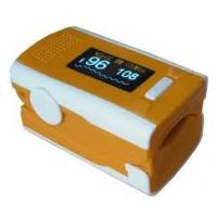 China Small Color OLED display Digital Fingertip Pulse Oximeter SPO2 PR Patient Monitor  wholesale