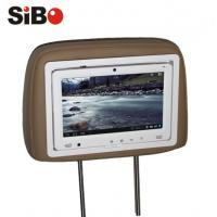 China 9 inch Taxi Rear Seat Pillow Android Touchscreen Monitor with Advertising Management System wholesale