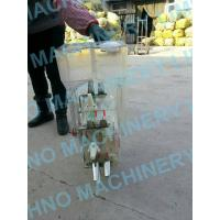 China Agriculture single row hand corn seeder,home maize fertilizer new wholesale