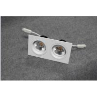 Buy cheap Square LED ceiling lights with double venture,180 degree rotating structure, 2 from wholesalers