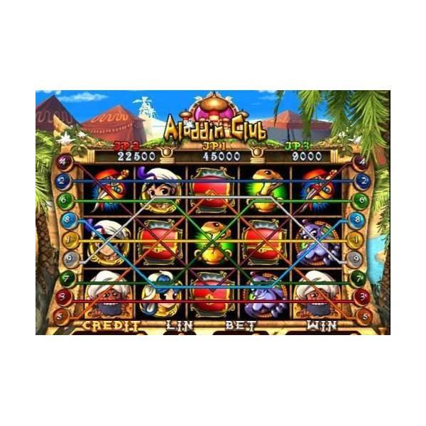 aladdin club casino machine coin game gambling game video slot