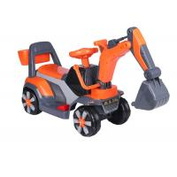 China Professional Childrens Electric Ride On Cars / Sit On Excavator Toy EN71 Approved wholesale