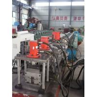 China Galvanized Steel Door Frame Roll Forming Machine 20KW 415V 30 Stations With CE wholesale