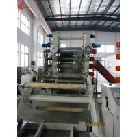 Quality 3.5 - 35 M / Min Roller Speed Calendering Machine , Rigid PVC 6 / 4 Roll Calender for sale