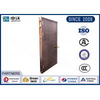 Buy cheap Sound Proof Steel Fire Door , 1.5 Hours Residential Fire Rated Doors from wholesalers