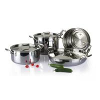 China 4Pcs 3-ply stainless steel cookware set SHCY-3012 wholesale