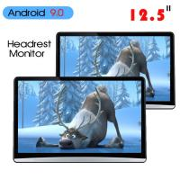 China 1920*1080 Car Headrest Monitor Hdmi Android 9.0 2 16g 12.5 Inch ABS Shell wholesale