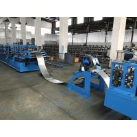 China 8 units Punching system Hat Roll Forming Machine / roll forming equipment wholesale
