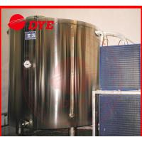China 5BBL Cold-drawing Storage Water Tank For Beer , Stainless Steel Jacketed Tanks wholesale