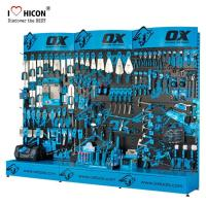Buy cheap Custom Accessories Display Stand Metal H-Shape Powder Tool Display Racks from wholesalers