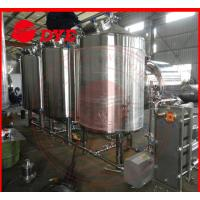 China 500L Semi-Automatic Cip Cleaning System For Beer Brewery Equipment on sale