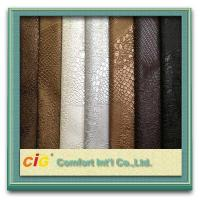 China 0.6mm Thickness PVC Decorative Artificial Leather For Handbag / wallet wholesale
