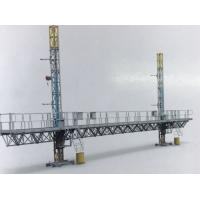 Buy cheap STC100 Mast Climbing Work Platform Twin Tower 2400kg Load Capacity Steel With from wholesalers