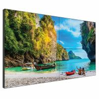 China 55 Inch Seamless Lcd Wall , 0.8mm 2x2 Ultra Narrow Bezel Video Wall wholesale