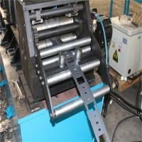China Energy saving Galvanized / PPGI  cable tray roll forming machine Width 150-600mm wholesale