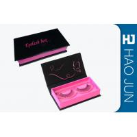 China Book Style Magnetic Eyelash Box Portable Custom Packaging For Eyelashes wholesale