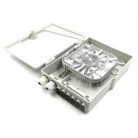 China Frog Wall Mount Termination Box , 12 Fiber Ftth Termination Box For Networking Devices wholesale