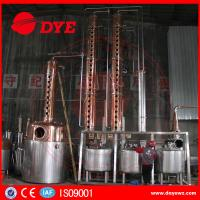 China Rum Gin Whiskey Commercial Distilling Equipment Alcohol Pot Still wholesale