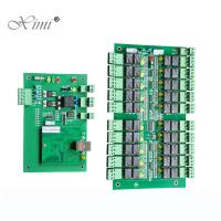 China TCP/IP 40 Floors Biometric Fingerprint And RFID card Elevator Access Control Board DT40 Lift Controller System wholesale