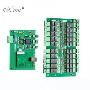 China TCP/IP Fingerprint And RFID Card Elevator Access Control Systsem 20/40 Floors Elevator Door Control Board wholesale
