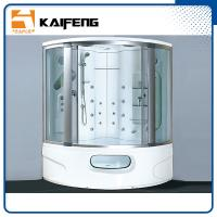China 2 Person Steam Shower Jacuzzi Whirlpool Tub Combo , Steam Bath Cabin For Home wholesale