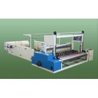 China Toilet Paper Roll Slitting Machine and Rewinding Machine for Industrial Roll wholesale