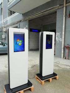 China 22 Inch 2500nits Interactive Digital Signage Kiosk IP65 1200W wholesale
