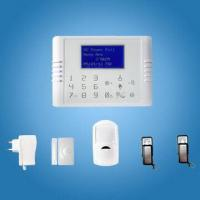 China Quad Band GSM + PSTN Dual Network Touch Keypad Wireless Home Burglar Alarm System with CE wholesale