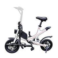China 14 Inch 25km/H Folding Electric Bike With Lithium Battery wholesale