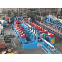 China Cr12 C Purlin Roll Forming Machine , Corrugated Iron Sheet Making Machine 550mm Coil Width wholesale
