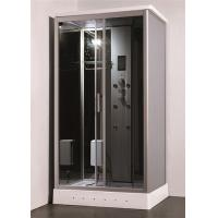 China Residential Steam Shower Bath Cabin Multi Jet Shower Enclosures With FM Radio Function wholesale