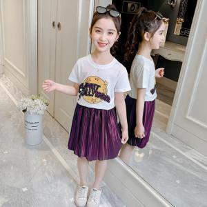 China OEM Cute Beautiful Short Sleeve Summer Tops For Girls wholesale