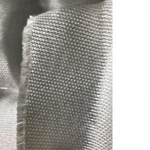 China Lightweight Fiberglass Fabric Cloth 666 , Flame Retardant Fabric With Ss Wire on sale