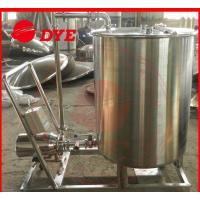 China Moveable Cip Cleaning System Commercial , Washing Machine Flat Bottom wholesale