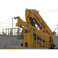 China 360 degrees XCMG Knuckle boom crane Safety Hydraulic for loading With 90L Oil Tank wholesale