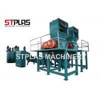 China Waste PET Bottle Plastic Washing Recycling Machine Line With Label / Cap Remover wholesale