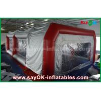 China Waterproof Inflatable Air Tent PVC Spray Booth For Car Paint Spraying wholesale