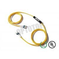 China 2X2 1m Single Mode Fiber Coupler 1310 / 1550nm LC / UPC With With Single Window wholesale
