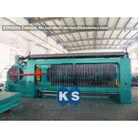 China Heavy Duty Gabion Mesh Machine Net Weaving Machine 80x100mm Netting Width 4300mm wholesale
