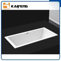 China Square Long Freestanding Soaking Bathtubs For 1 Person Space Saving wholesale