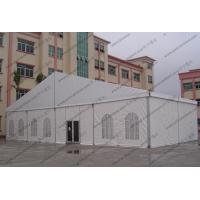 China Huge Gala Outdoor Circus Tent With Luxury Lining Glass Door For Open - Air Event Party wholesale