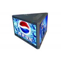 China Three Sides Outdoor P3.91 Taxi Top Roof Advertising Led Sign 1000mm x 500mm Per Side wholesale