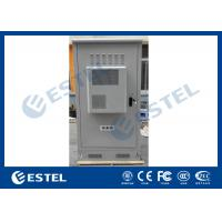 China Waterproof Outdoor Telecom Cabinets , Outdoor Equipment Cabinet With Air Conditioner wholesale