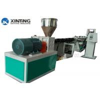China HDPE PE PPR Pipe Extrusion Machine , PPR Pipe Making Machine Production Line wholesale
