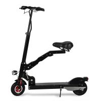 China Portable Folding Electric Scooter For Adult / Folding Seat Motorized Electric Scooter wholesale