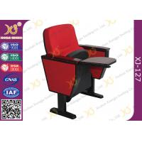 China Metal Frame Auditorium Church Hall Chairs Space Saving Size 890mm * 700mm * 580mm wholesale
